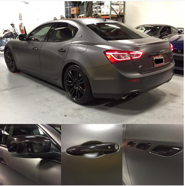 Just Dipped My Ghibli Maserati Ghibli Forum